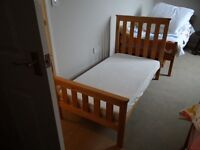 Cot Bed - Mothercare Jamestown cot bed including mattress - excellent condition