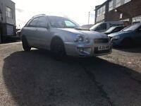 Subaru Impreza wrx replica, 2.0 petrol, new clutch long MOT, great condition. FSH Bargain HPI CLEAR