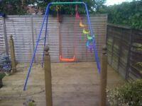 Outdoor swing available