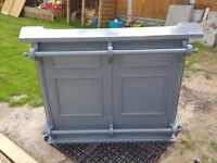 Bar for home use. Ideal for man cave/she shed. Made of wood. £100.