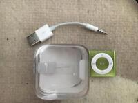 Green iPod Shuffle 2gb