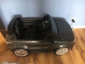 Feber battery powered Range Rover