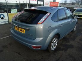 2008 08 FORD FOCUS 1.8 TITANIUM 5D 125 BHP ****GUARANTEED FINANCE**** PART EX WELCOME