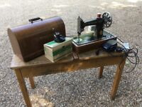 Singer Sewing Machine in Full Working Order