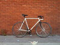 PETE MATTHEWS single speed track bike Reynolds Turbo Dia Compe Continental