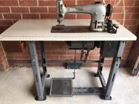 Singer 96k41 Industrial Sewing machine and table