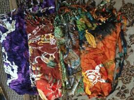 Boho wrap beach Skirts (Job lot)