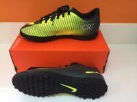 Brand new in box (no lid) Nike Junior Mercurial Vortex III CR7 TF astroturf trainers Size 5.5 UK