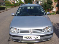 VW Golf Estate TDI S Silver metalic Excellent condition inside & out