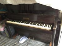 Free piano for spares or repair