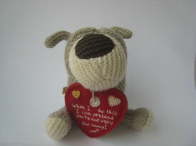 Valentine gift - Miss You - boofle dog / toy / collectible