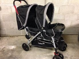 Safety 1st Duodeal double pushchair