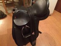 Comfort saddle black 18' XW
