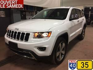 2016 Jeep Grand Cherokee LIMITED,NAV,TOIT OUVRANT,ROUES DE 20 PO