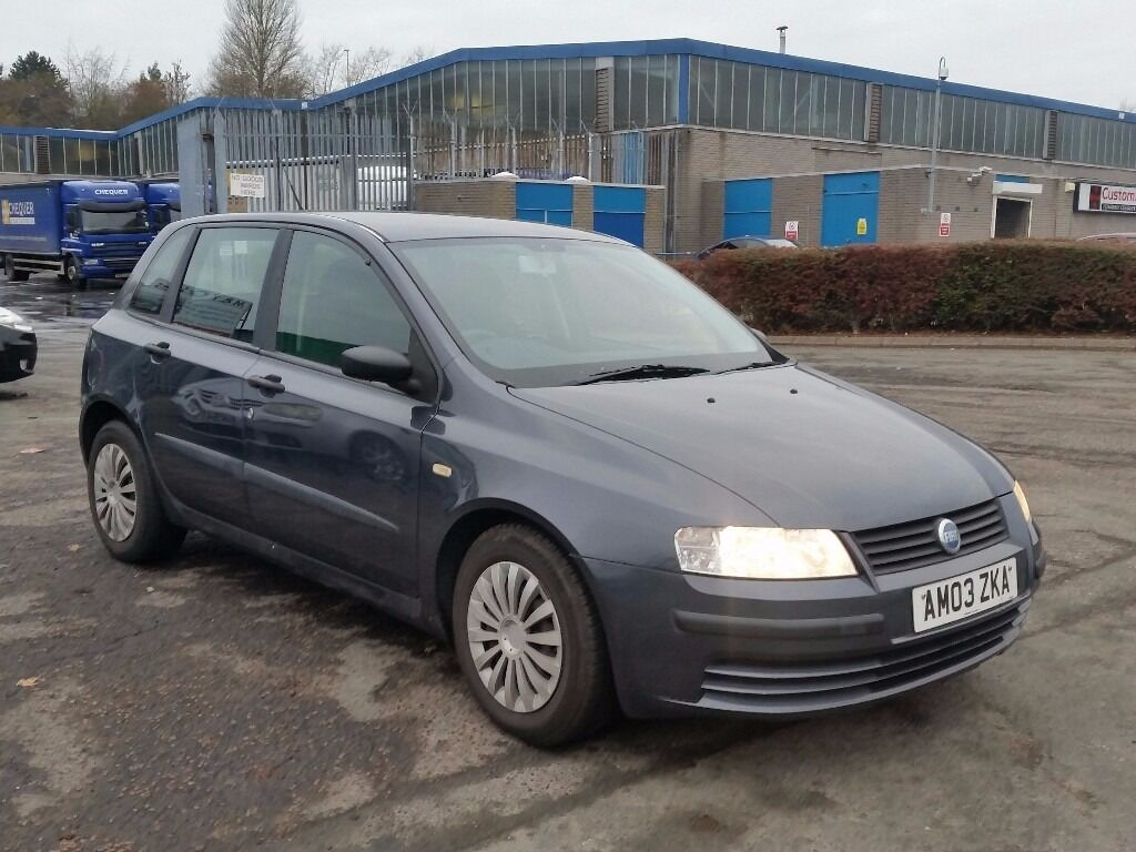 2004 (04 reg) Fiat Stilo 1.2 16v Active 5dr Hatchback FOR £395 MOT'D TILL 08/03/2017