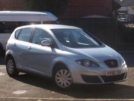 Seat Altea 1.6 TDI Ecomotive. Perfect condition. Full service history. MOT Nov 2018. £30 a year tax