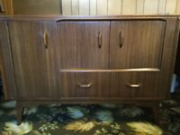 G Plan Sideboard & G Plan Dining Table + 4 chairs