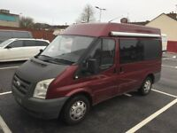 LAST REDUCTION NEED GONE Ford transit camper 08 12months mot FSH REDUCED FOR QUICK SALE