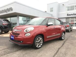 2015 Fiat 500L Lounge NO ACCIDENTS