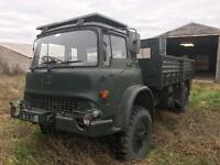Bedford 550 turbo army truck