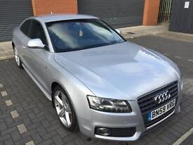 Audi A5 2.0 tdi coupe ice silver Xenons 59 plate