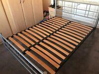 Kingsize metal bedframe