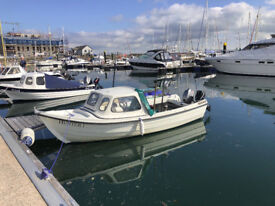 Orkney Strikeliner 16+ boat in excellent condition