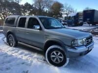 Ford Ranger Diesel 2005 MOT Oct 2018 as Freelander Xtrail Showgun Vitara X5