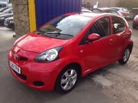 Toyota Aygo - excellent drive-MOT until next year-drive away the same day £2700
