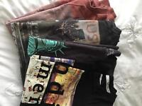 Men's jumpers and tshirts , size small, £5 the lot!!