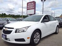 2014 Chevrolet Cruze 2LS !! LOW KMS !! ONE OWNER !! CERTIFIED AN