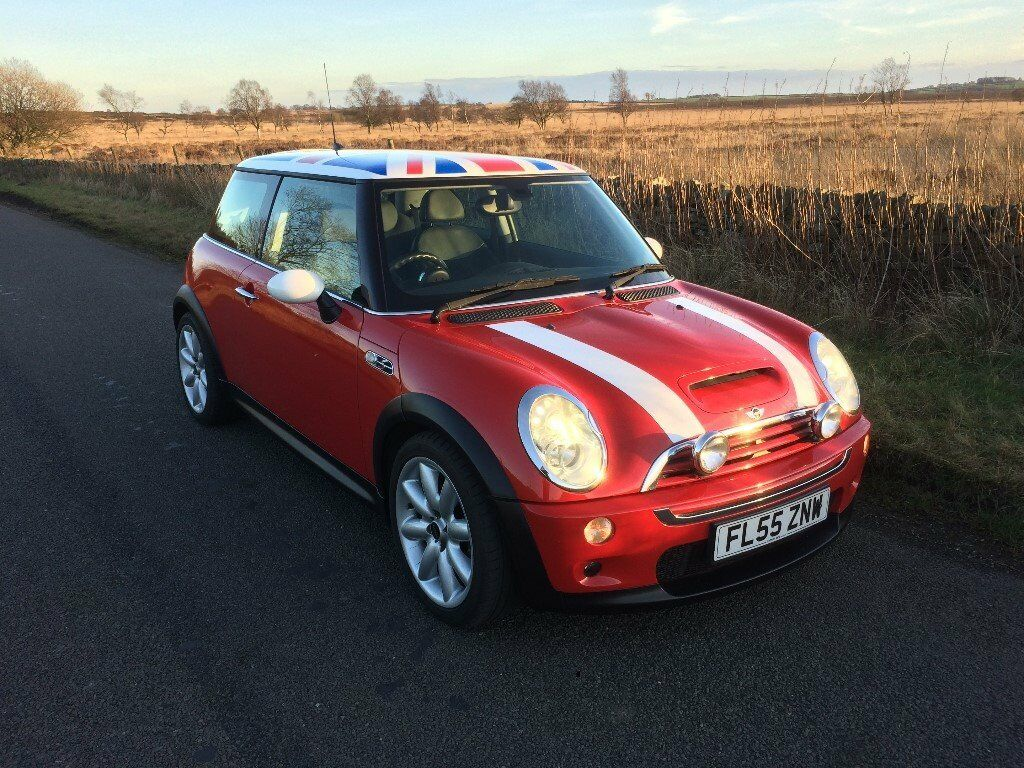 Mini Cooper S Chilli Red Union Jack Roof 2 Owner Car 12