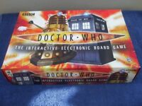 Interactive Electronic Dr. Who Board Game.