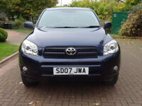TOYOTA RAV4 2.2 XT5 D-4D 5d 135 BHP LEATHER TRIM ++ 9 SERVICE STAMPS++