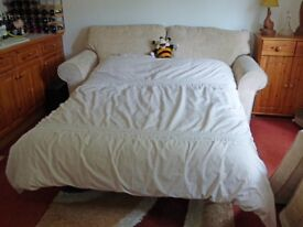Barely used sofa bed