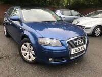 56 plate- audi a3 - 2.0 diesel - 6 speed gear box - full electric sun roof - full service history