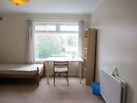 A spacious double room at Clifton, Nottingham now available for a student to rent, 200 pounds/month