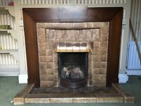 Fireplaces , doors and floors house clearance items