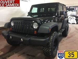 2013 Jeep Wrangler SPORT,3.73,HITCH,PNEUS 33 POUCES, LIFT KIT 2.