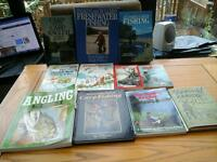 Selection of fishing books
