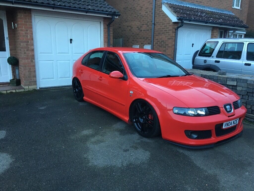 seat leon cupra r air ride in hawkinge kent gumtree. Black Bedroom Furniture Sets. Home Design Ideas