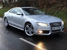 Dec 2008 Audi S5 4.2 FSI Tiptronic Quattro 2dr coupe. trade in considered, credit cards accepted