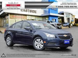 2014 Chevrolet Cruze REMOTE START!! HEATED MIRRORS!! BLUETOOTH