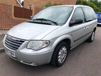 2007 Chrysler Voyager se 7 seater mpv ideal holiday car 12 months mot