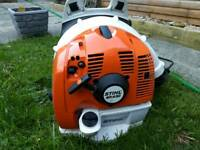 Stihl BR 430 petrol backpack blower in as new condition.