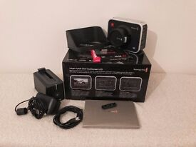Blackmagic Production Camera 4K Cinema Camera inc SSD and Davinci Resolve