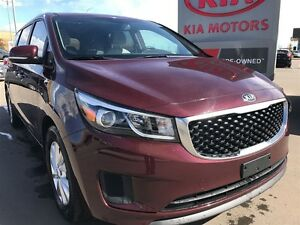 2016 Kia Sedona LX + Power sliding doors, heated seats and push
