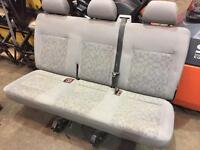 volkswagen transporter caravelle 3rd row rear seats