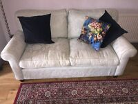 Sofa Laura ashley duck egg blue in very good condition