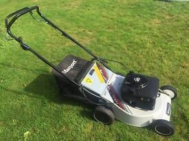 "Masport self propelled 18"" cut lawnmower alloy deck solid well made machine mower serviced"